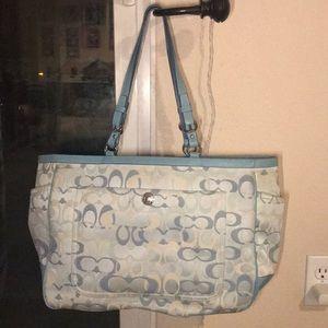 Coach Diaper Bag/ Handbag! 😍😍