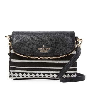 NEW Kate Spade Harlyn Crossbody Purse in B&W