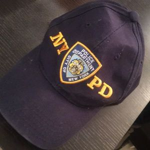 NYPD VELCRO BACK Hat