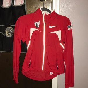 Slim fit Nike USA running jacket