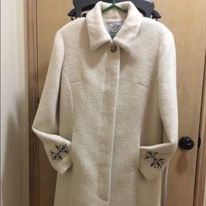 Baby alpaca coat