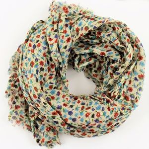 Ditsy Floral oversized scarf