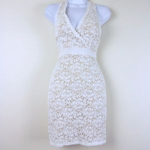 NEW Soprano Ivory Lace Bodycon DRESS XS-Small