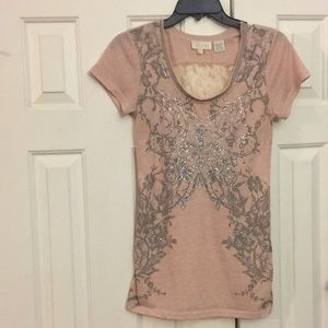 Gorgeous Miss Me top Embellished **see pics