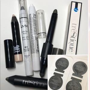 Eyeshadow stick NYX treStique LOC bundle set