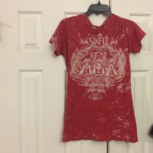 Sinful tee Sinful by Affliction Maybe unisex? L