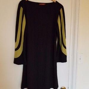 Giti Casual Black/Green Dress Size XL NWT