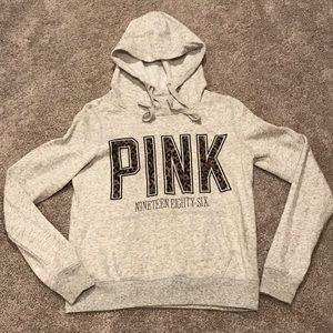 Pink Victoria Secret Sweatshirt
