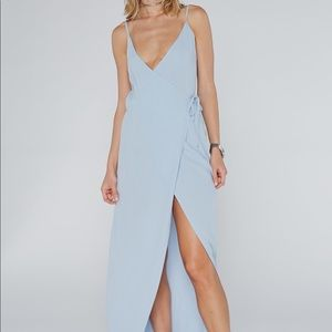 FLYNN SKYE ☁️ WRAP AROUND DRESS