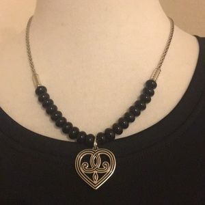 NWOT Brighton Necklace With Heart Pendant