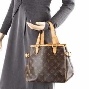 Authentic Louis Vuitton Hand Bag Batignolles PM