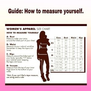 How to measure yourself at home.