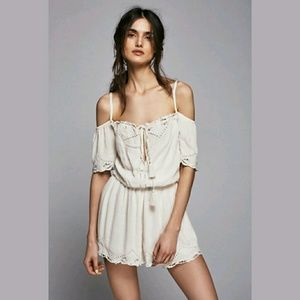 Free People Exclusive 'Romantic' Ivory Romper