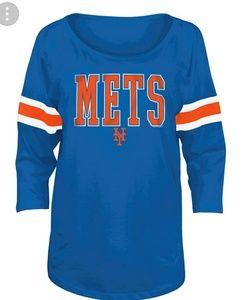 Tops - MLB Women's NY METS T-Shirt