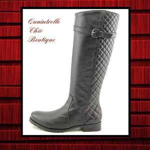 MATISSE QUILTED DETAIL COCO BOOT