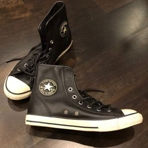 Genuine Leather Converse