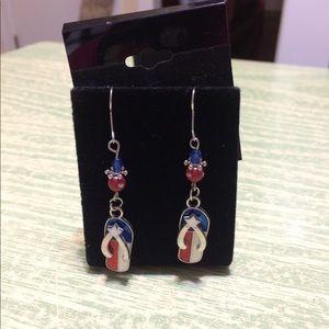 Handmade Flip Flop Earrings
