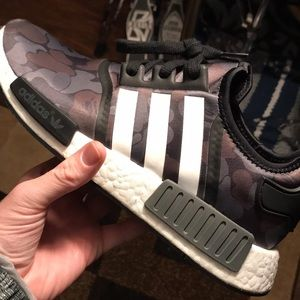 Adidas Bape nmd's (Size 9.5)