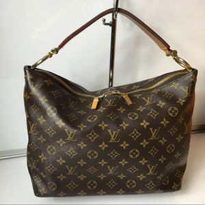 100%Authentic Louis Vuitton Sully PM with Dust Bag