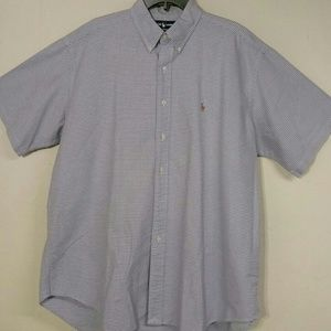 Men's Ralph Lauren Polo Short Sleeve Shirt- XL