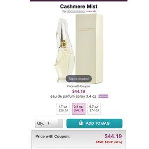 Donna Karen Cashmere Mist 3.4 oz