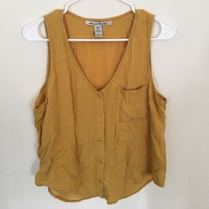 American Rag Yellow Top
