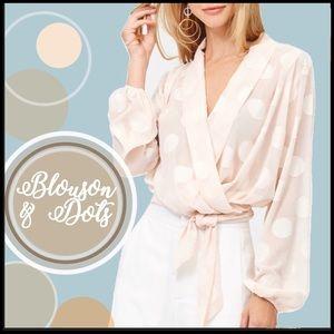 COMING SOON! Kimono Blouson Sleeve Blouse