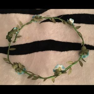 🦋 Beautiful Blue Flower Crown 🦋
