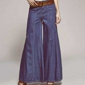 Free People flare denim NWT