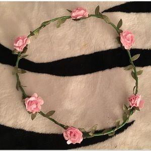 🌸 Pink Flower Crown 🌸