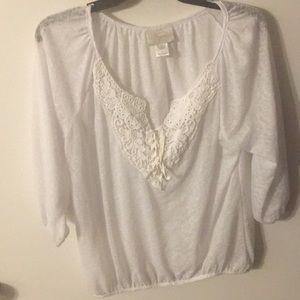 Shyanne white blouse.