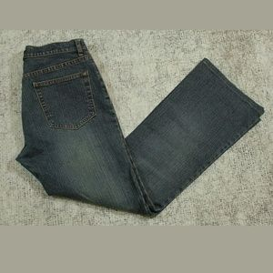 Gap Low Rise Flare Boot Cut Stretch Jeans Size 8