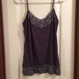 Maurices Large Purple Tank Top