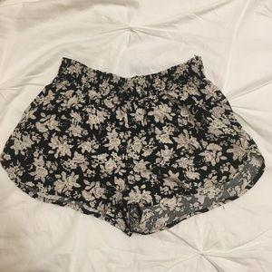 Floral Pattern Shorts