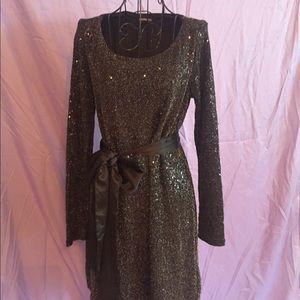 Express Glitter Dress