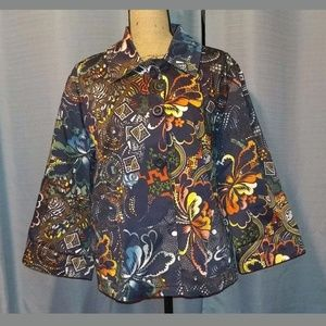 Chico's Blazer Jacket - Chicos Size 3 US Size XL