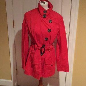 Red 3 Season Coat
