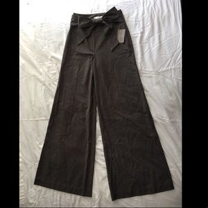 Anthropologie Elevenses wide legged trouser - NWT!