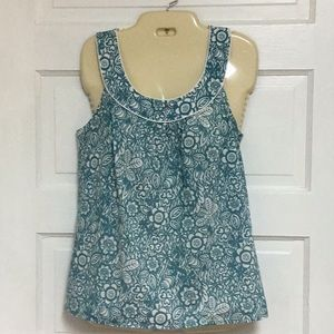 Loft Sleeveless Blouse Shirt