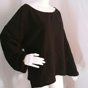 Soft Surroundings size Large Tunic Top Long Sleev
