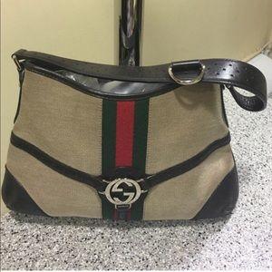 Gucci Reins Shoulder Bag (like new)