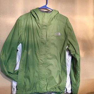 North face jacket Hyvent size large