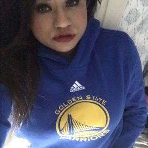 NWOT:ADIDAS :|Golden State Warriors Hoodie Sweater