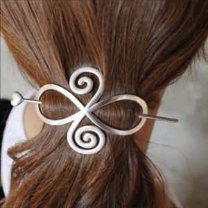 Celtic hair accessory or shawl pin