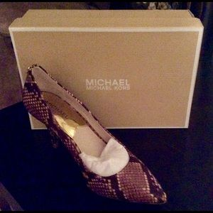 Michael Kors women's shoes size 9