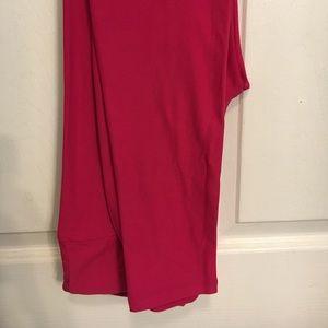 Raspberry colored OS Lularoe leggings