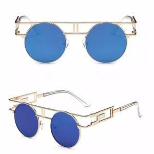 Technologic Mirror Teal Gold Polarized Sunglasses