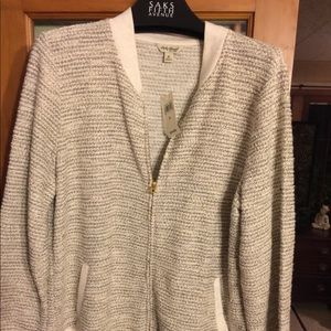 Lucky Brand sweater jacket xl
