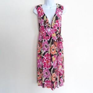 MERONA FAUX WRAP AROUND DRESS