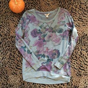 Arizona Jeans co Flower Sweatshirt Medium